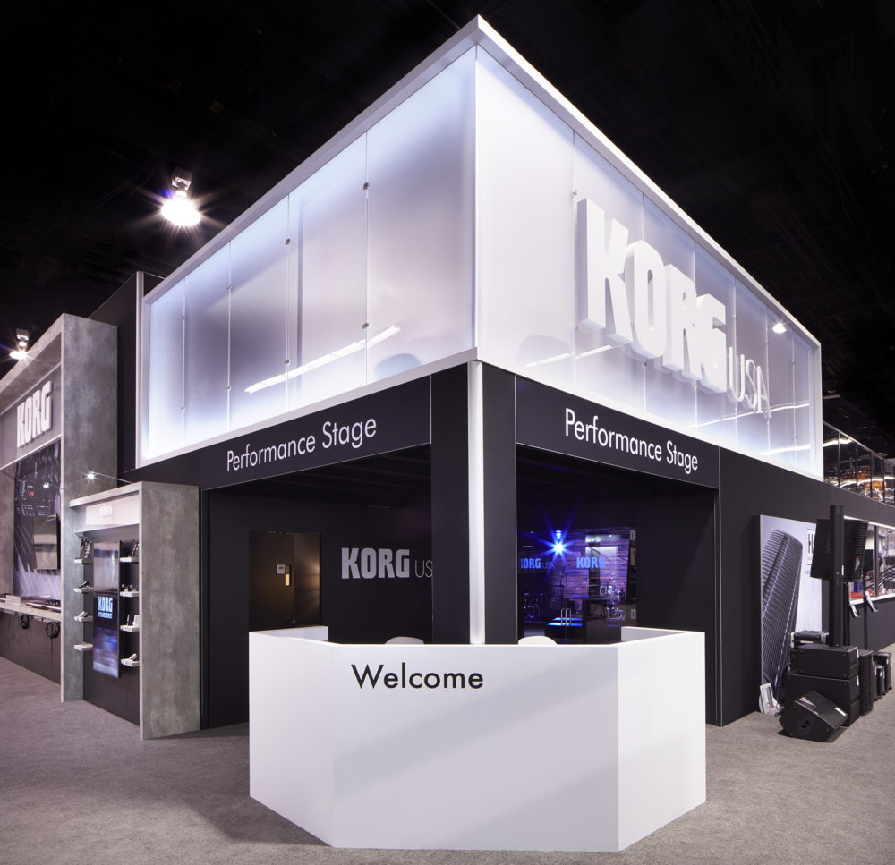 Korg USA Unveils New Two-Story Booth At Winter NAMM « MMR