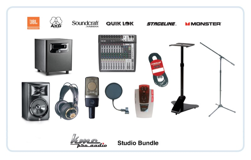 KMC Music Debuts Two New Pro Audio Bundles To Help Create In-Store