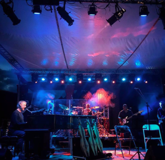 Bruce Hornsby Uses CHAUVET Professional Lighting in Georgia