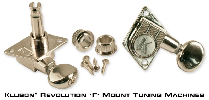 Kluson Revolution 'F' Mount Tuning Machines