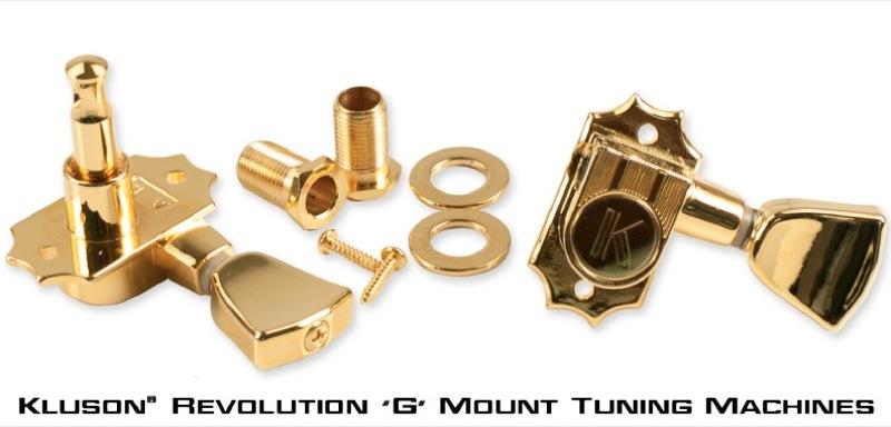 Kluson Revolution 'G' Mount Tuning Machines