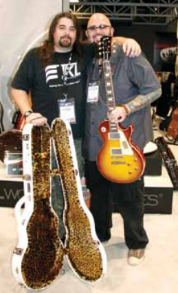 TKL's Tommy Dougerty with Jackson Galaxy