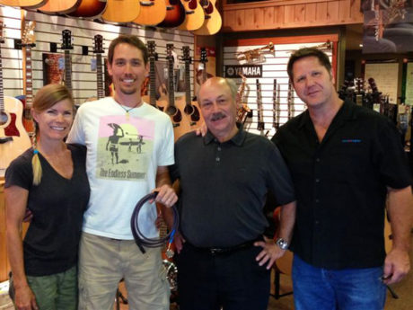 Asterope visits First String Music in Colorado.