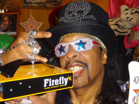 Bootsy Collins Adds Radial Firefly to Studio Arsenal