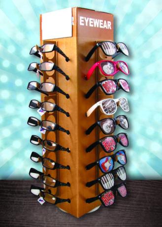 AIM Gifts Eyewear Display