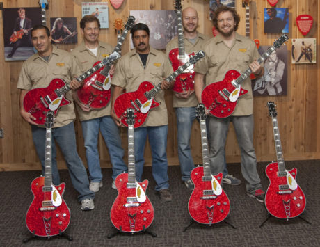 Gretsch Custom Shop Team