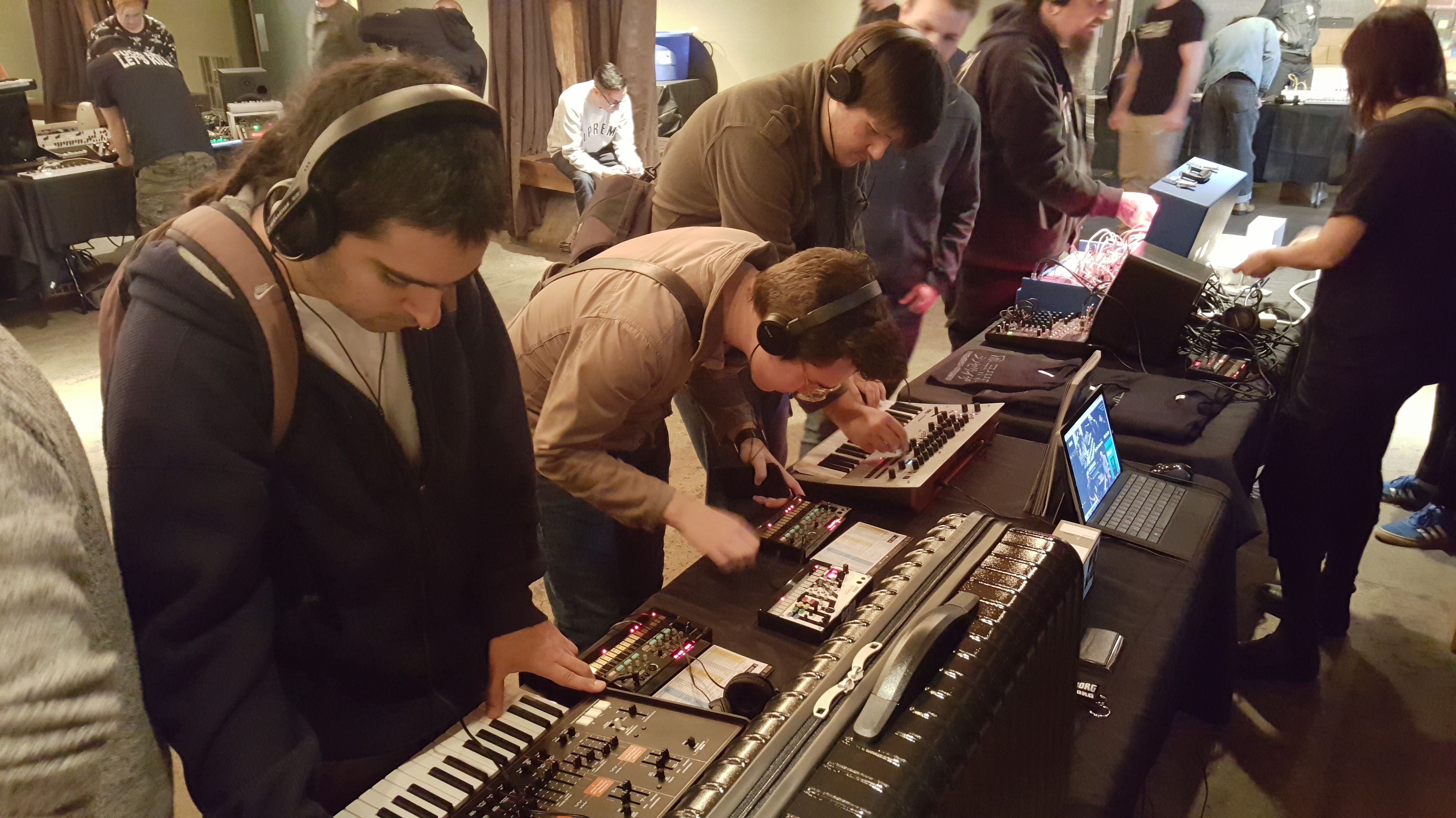 Korg Featured at Seattle's Patchwerks Synth Meet « MMR Magazine