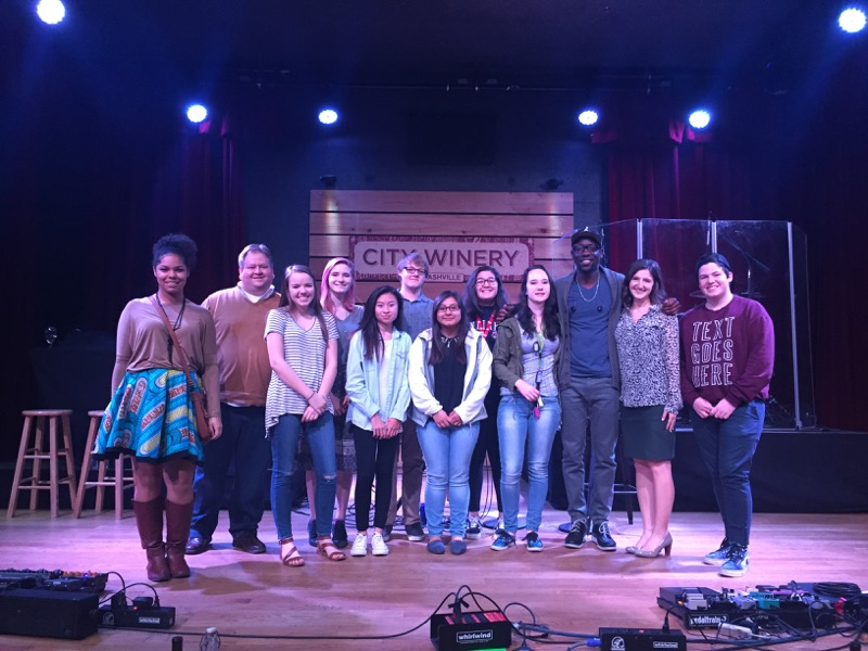 Nashville Public School students attend private performance.