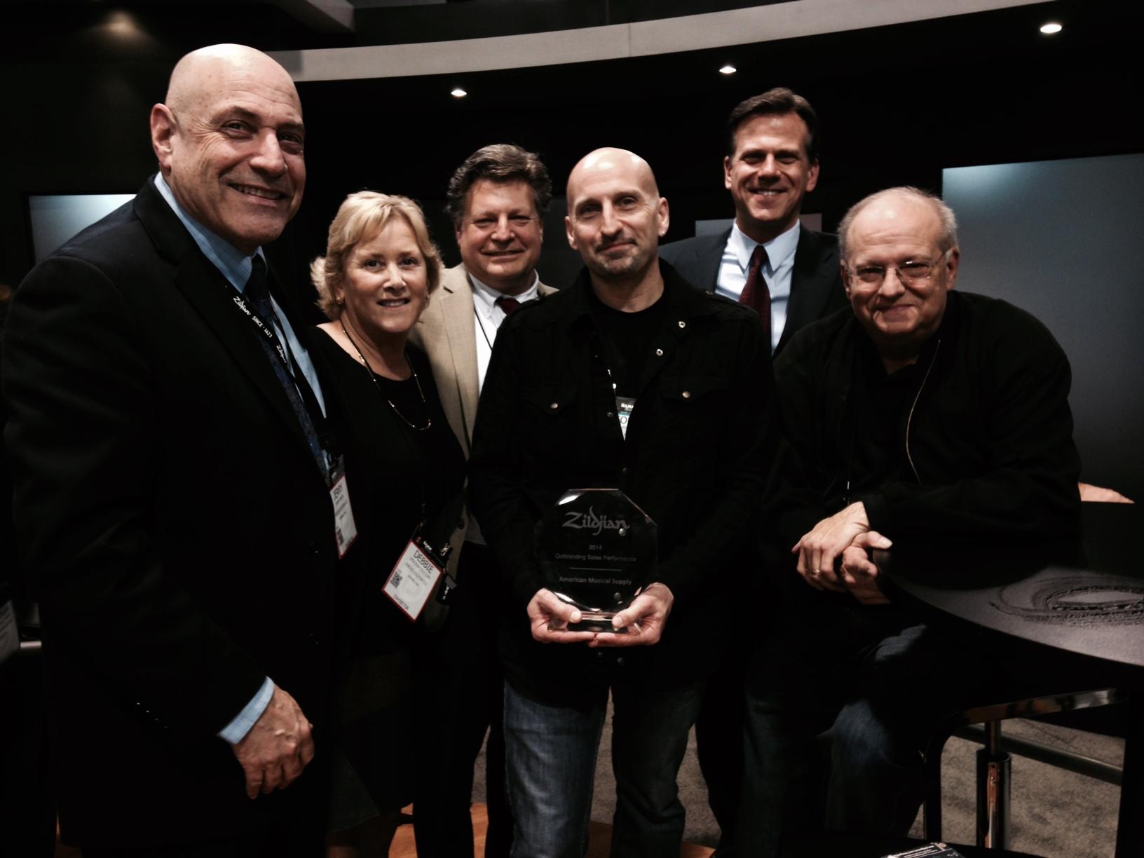 Zildjian Presents 2014 Dealer Awards « MMR Magazine